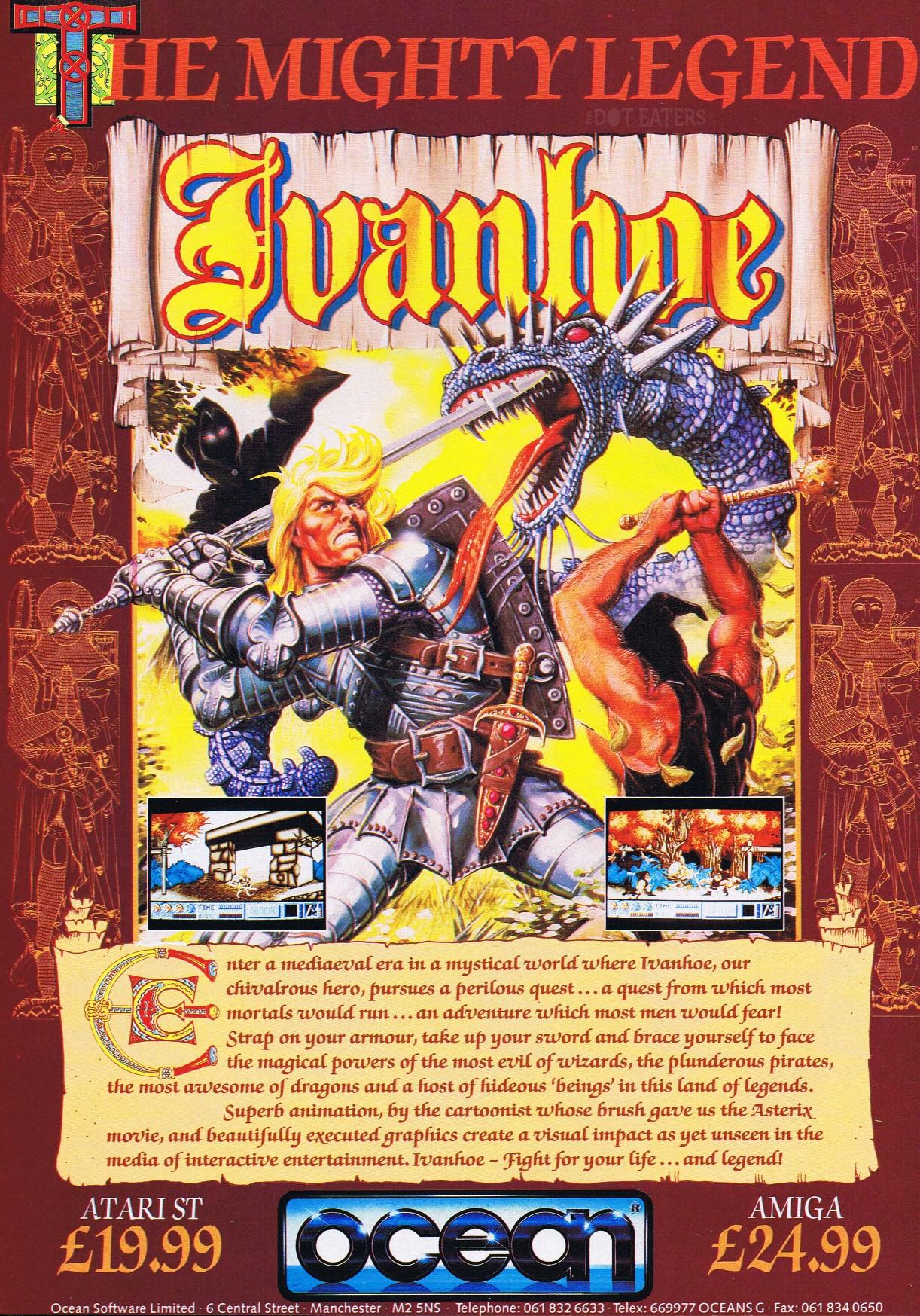 Ivanhooooooe! (1990) retrogaming bitstory Retro video
