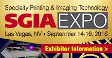 SGIA 2016 Exhibitors