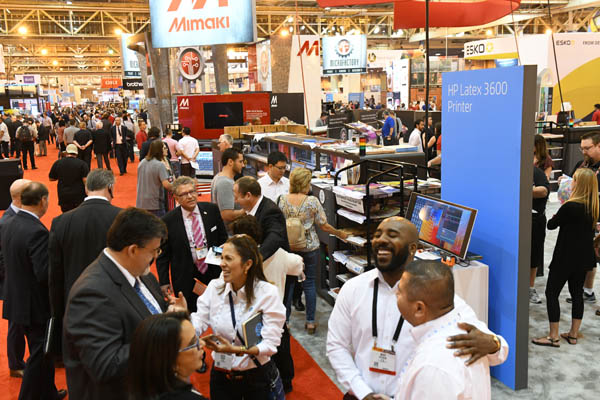 The Expo is always exciting, and not just because it's the largest printing show in North America
