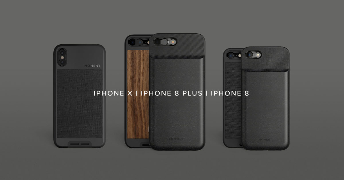 new concept d4bc2 8ead6 iPhone 8 and iPhone 8 Plus: Cases, Battery Cases, and Lenses - Moment