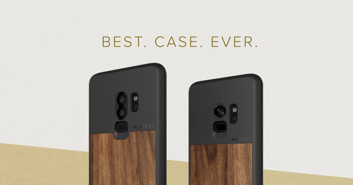 separation shoes 1b743 1ac60 Samsung Galaxy S9 / S9+ Cases, Lenses, and Straps - Moment