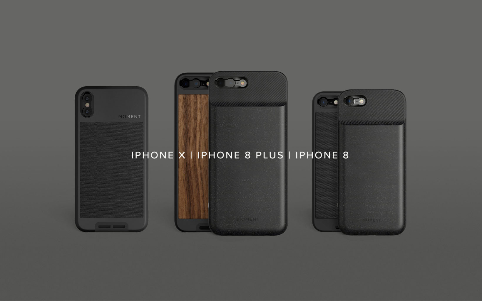 new concept bbfbd ae6ef iPhone 8 and iPhone 8 Plus: Cases, Battery Cases, and Lenses - Moment