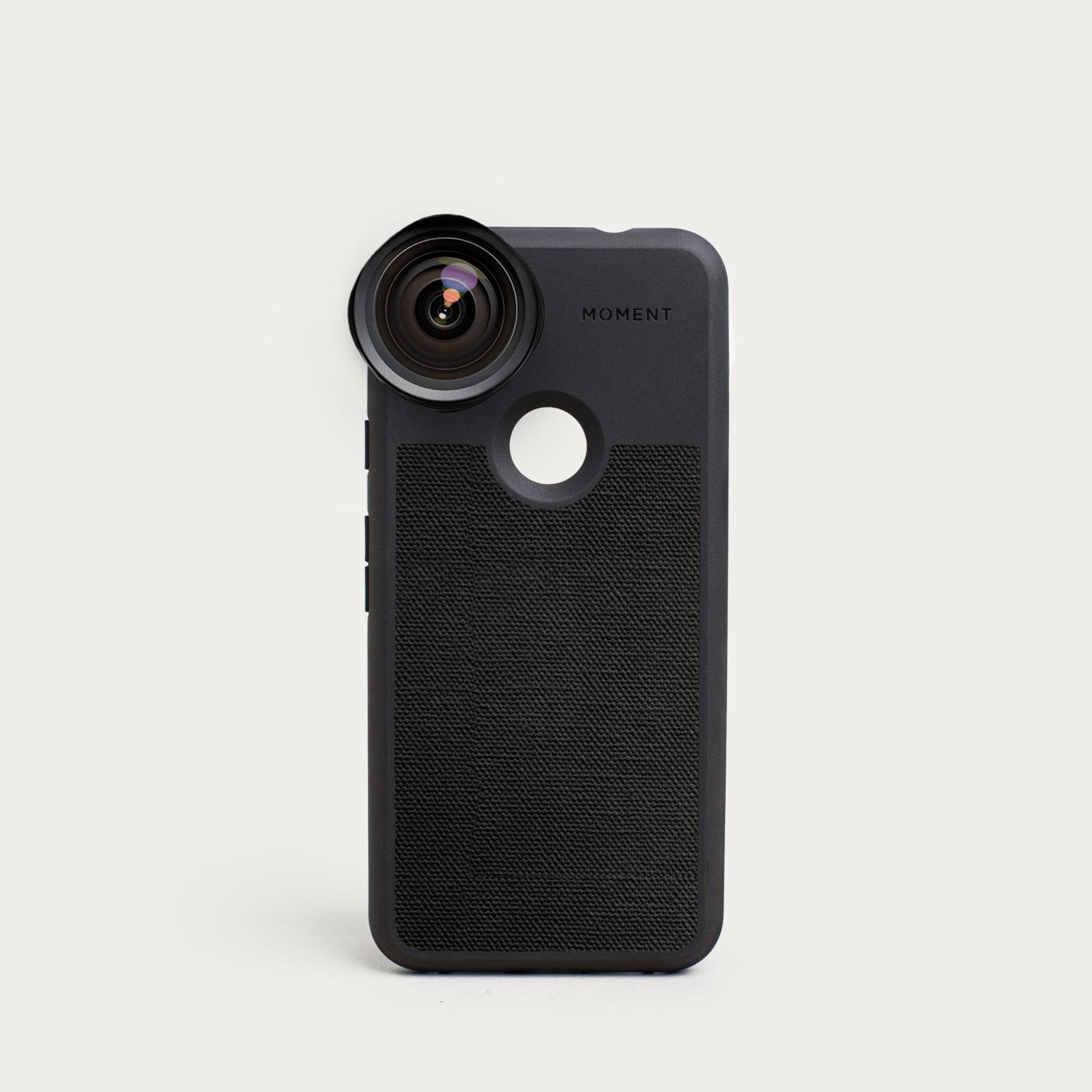 Pixel Photo Case | Pixel 3a - Black Canvas