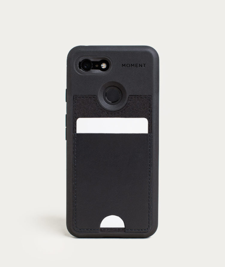 sports shoes b6d5d 08541 Pixel Wallet Photo Case   Pixel 3 Wallet Case in Black