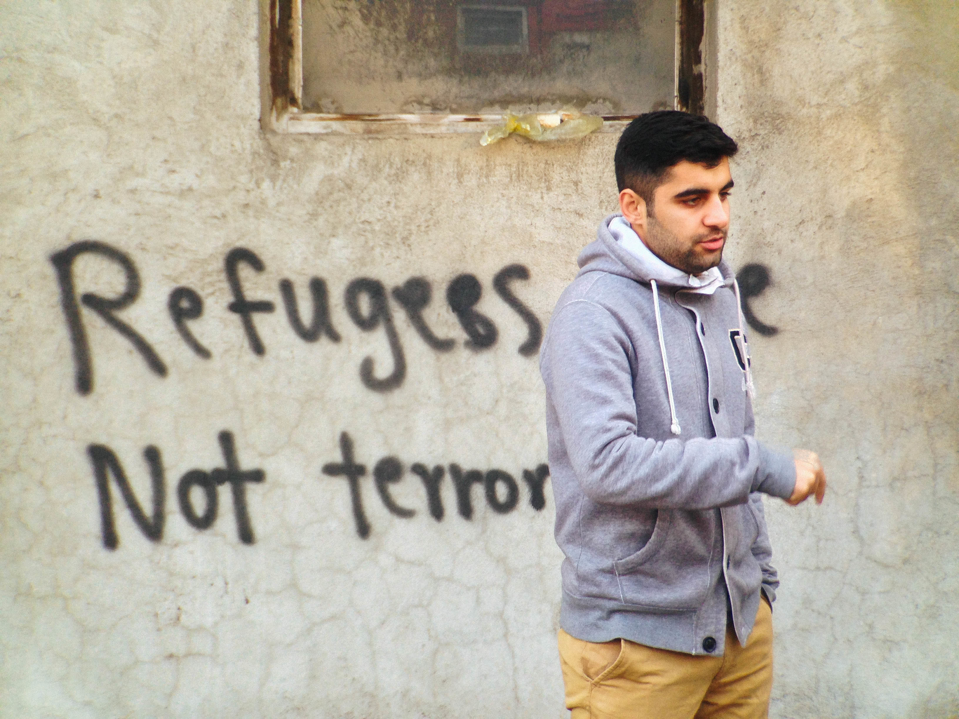 Refugees are not terrorists - Serbia