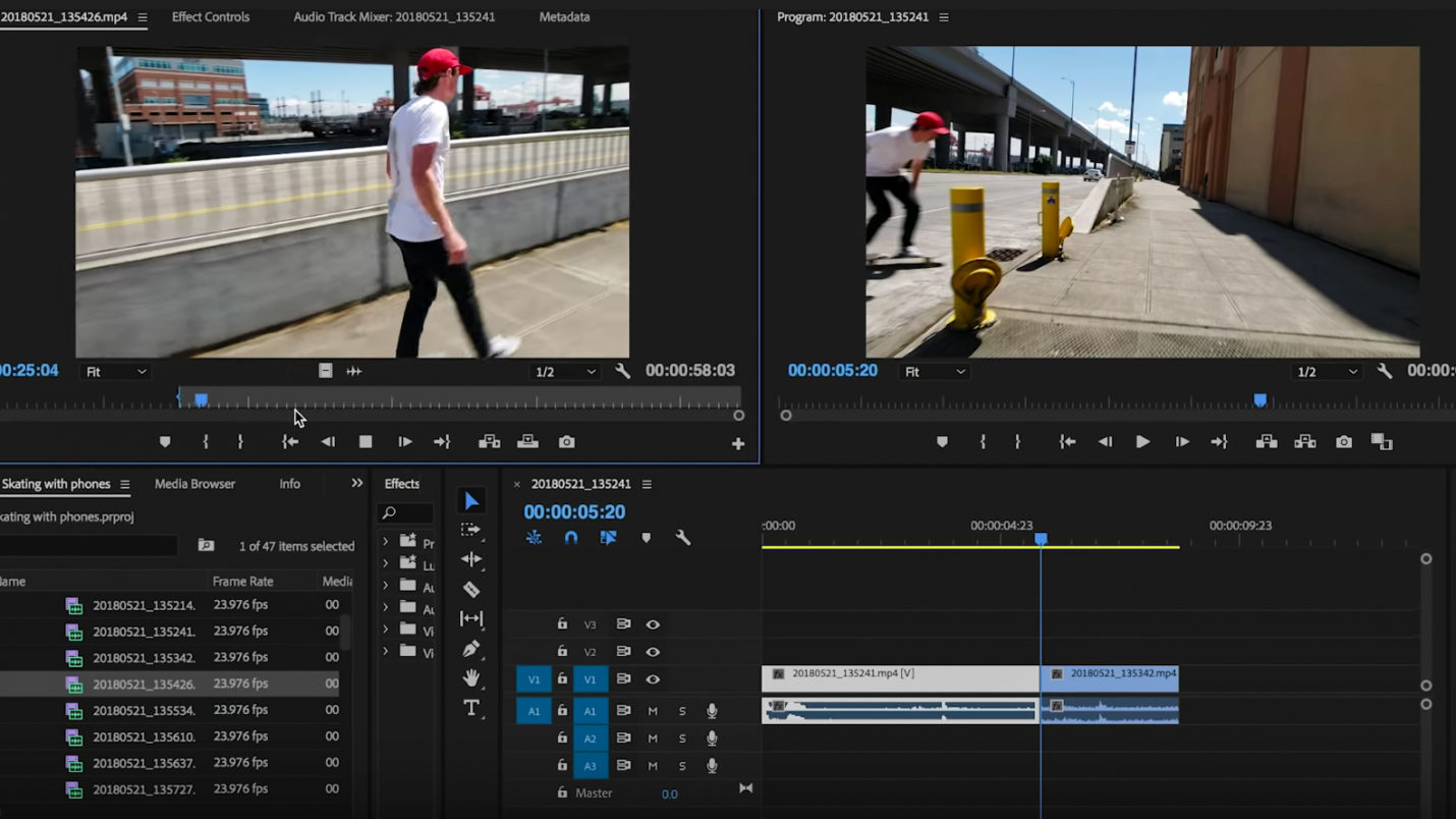 How To Edit Mobile Video In Adobe Premiere Pro - Moment