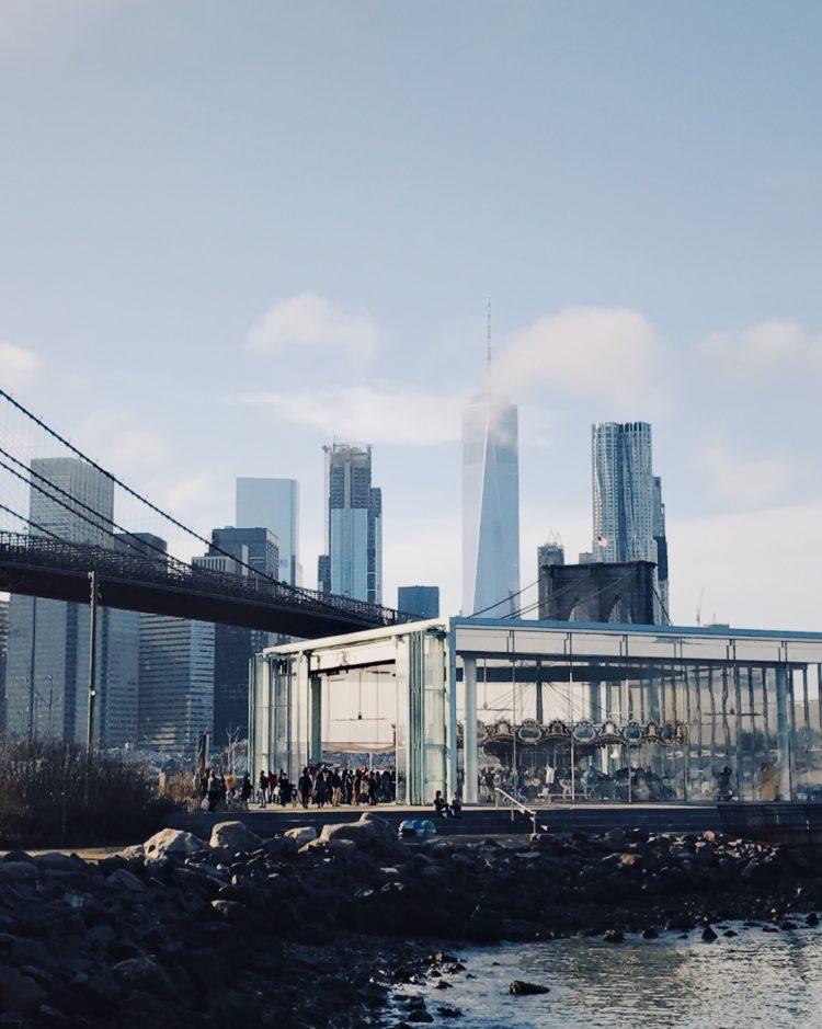 Moment Twheat Brooklyn Bridge Park 2