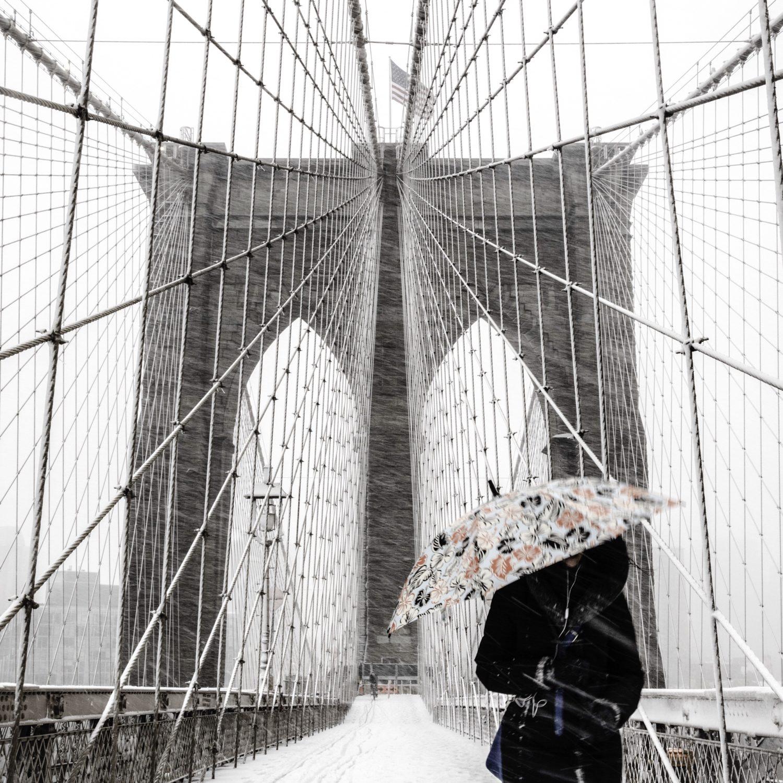 Moment Twheat Brooklyn Bridge 1