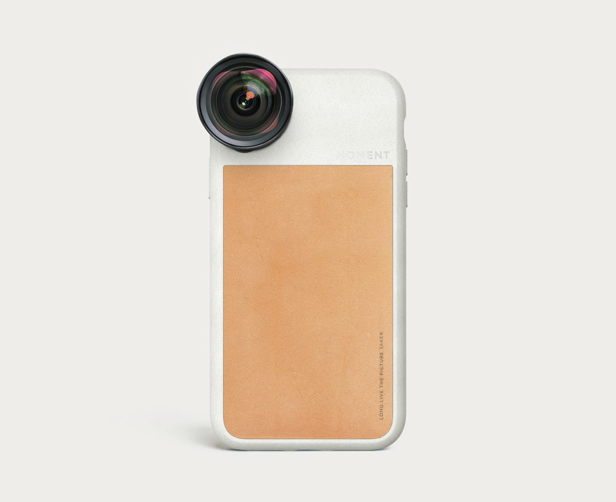on sale a74f8 7b9e2 iPhone Photo Case | iPhone XR - Tan Leather