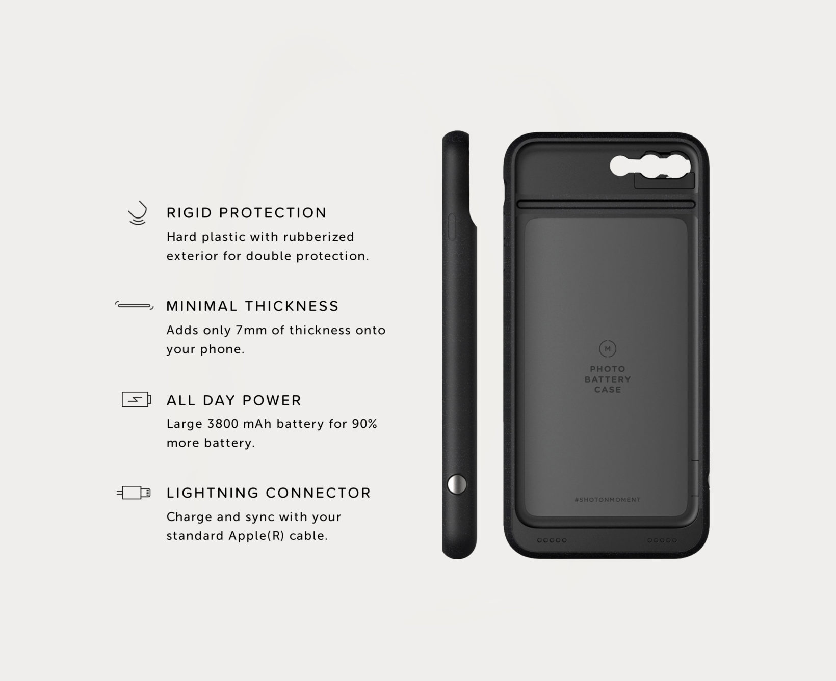 9141eed7985 iPhone Battery Photo Case | iPhone 8 Plus / iPhone 7 Plus