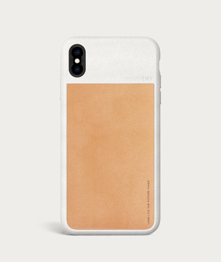 finest selection e0b95 18bf4 iPhone Photo Case | iPhone XS - Tan Leather