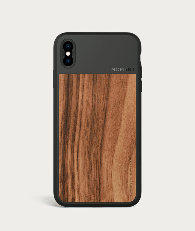 low priced ab187 77c5b iPhone Photo Case | iPhone XS Max - Walnut Wood