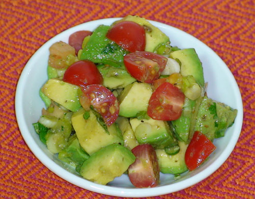Avocado Salad Recipes Indian