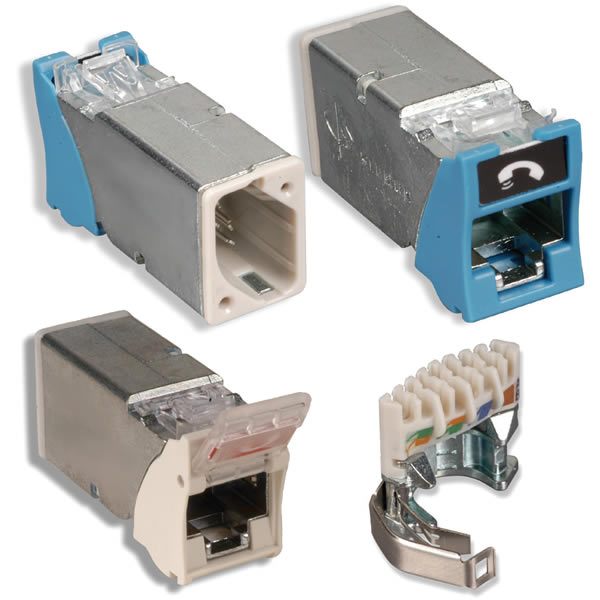 Z-MAX® Shielded and UTP Outlets
