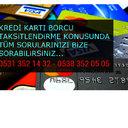 kredi kart borcu taksitlendirme