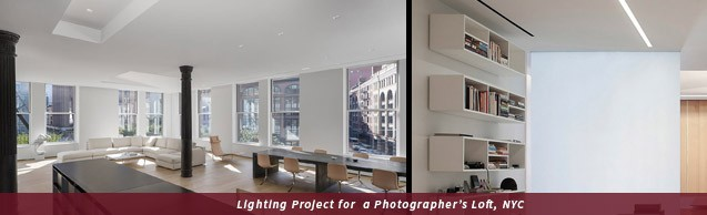 Lighting Project for a Photographer's Loft