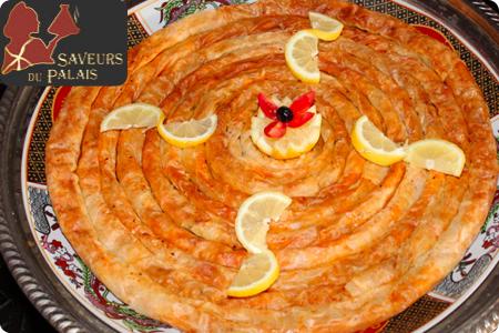 Recette de Pastilla aux poissons, une recette de cuisine Marocaine