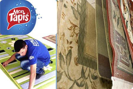 Mon Tapis prenez soin de vos tapis avec un bon d'achat d'une valeur de 40 dh à