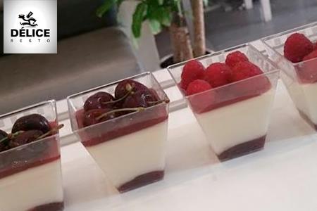 un dessert gourmand et raffin avec cet assortiment de 5 verrines au choix 29 dh au lieu de 60. Black Bedroom Furniture Sets. Home Design Ideas