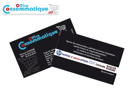Faites Une Super Impression Dans Votre Business Avec 1000 Cartes De Visite 289 DH Au Lieu 990 Chez Consommatique Office
