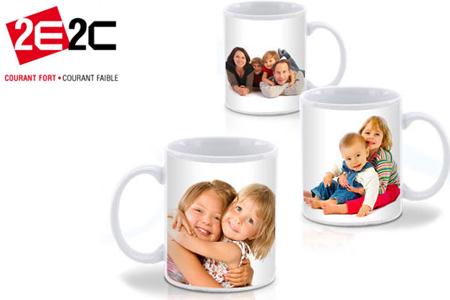 Fabuleux Buvez votre café dans un mug personnalisé, avec la photo de votre  GZ02