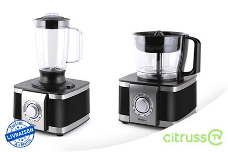 un outil de taille version premium pour accompagner vos talents culinaire avec un robot de. Black Bedroom Furniture Sets. Home Design Ideas