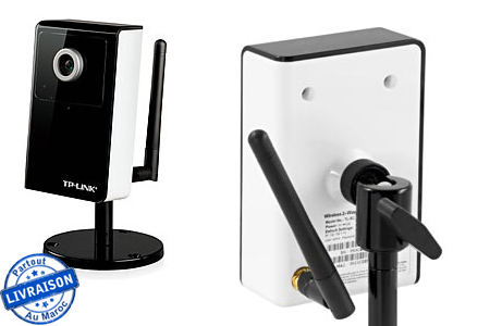 une protection optimale pour votre int rieur avec une cam ra de vid o surveillance sans fil avec. Black Bedroom Furniture Sets. Home Design Ideas