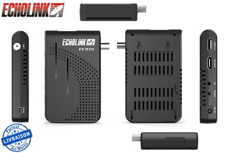 Profitez de la qualité FULL HD avec ce récepteur Echolink Femto +