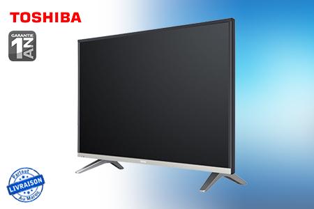 vivez l 39 exp rience full hd avec cette smart tv led toshiba 32 pouces 2299 dh au lieu de 2700. Black Bedroom Furniture Sets. Home Design Ideas