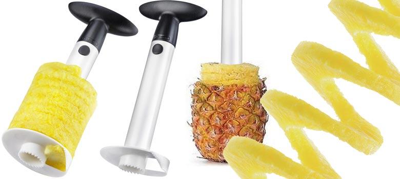 R alisez de tr s belles tranches en vous quipant d 39 un coupe ananas en spirale seulement 29 - Conservation ananas coupe ...