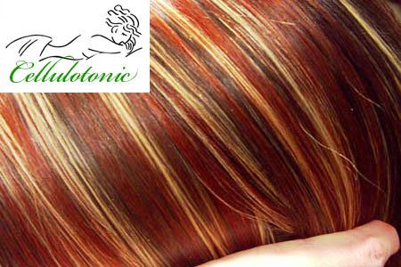 Coloration cheveux 3 tons