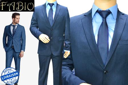 el gance classe et raffinement au masculin avec un costume chemise cravate au choix