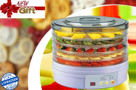 Augmentez la dur e de conservation de vos aliments en optant pour ce d shydrateur lectrique 5 - Duree conservation soupe maison ...