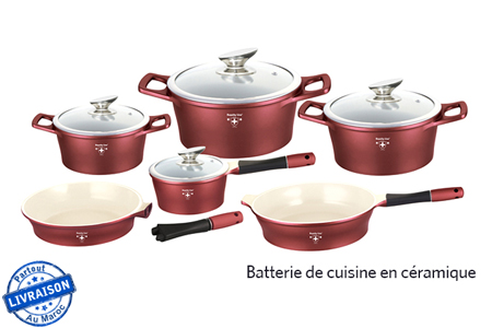 Mettez l 39 oeuvre toute votre innovation culinaire en - Batterie de cuisine en cuivre ...