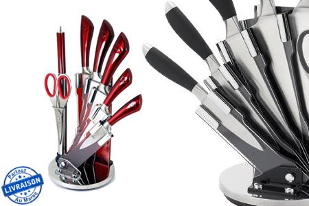 Cuisinez comme un chef gr ce ce set de couteaux 8 pi ces - Set de cuchillos royalty line ...