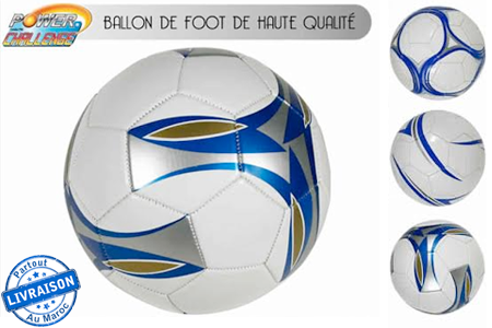suivez les pas de vos stars de football pr f r avec ce ballon de foot 80 dh au lieu de 150 dh. Black Bedroom Furniture Sets. Home Design Ideas