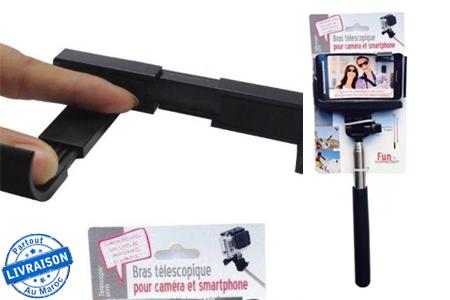 l 39 indispensable pour un selfie r ussi 1 bras t lescopique. Black Bedroom Furniture Sets. Home Design Ideas