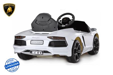 bonheur assur pour votre enfant avec cette voiture lectrique de la marque lamborghini. Black Bedroom Furniture Sets. Home Design Ideas