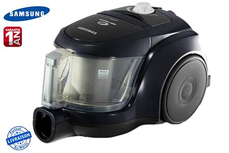 une propret irr prochable avec cet aspirateur samsung 2000 w sans sac de 1 3 l 799 dh au lieu. Black Bedroom Furniture Sets. Home Design Ideas