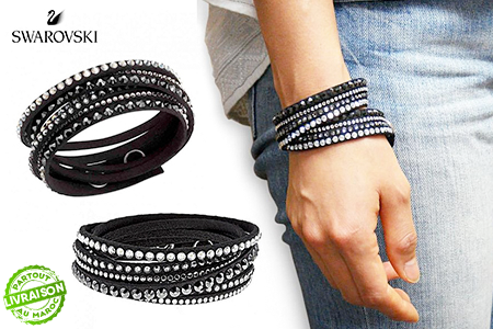 a88b67a9d Offrez-vous ce bracelet emblématique Swarovski Slake Deluxe de ...