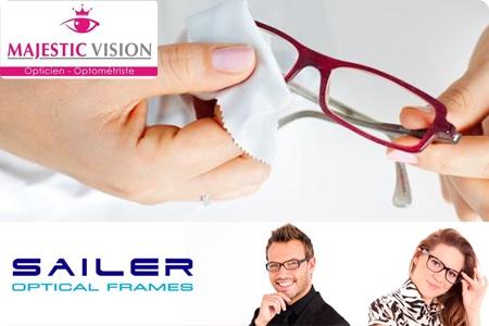 Donnez du charme à votre regard grâce à une monture optique au choix + 2  verres incassables anti-reflets à 499 DH au lieu de 1500 DH chez Majestic  Vision ! 856c0fc3244f