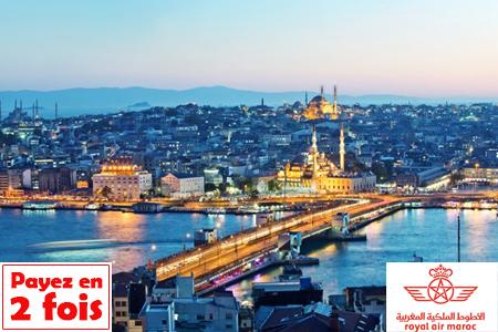 Envolez vous confortablement pour istanbul avec un s jour de 6 j 5 n en 3 - Site payable en 3 fois ...