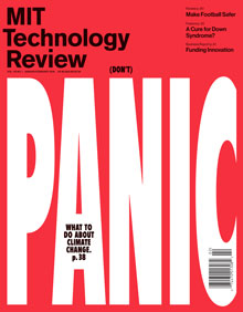 Latest issue of MIT Technology Review