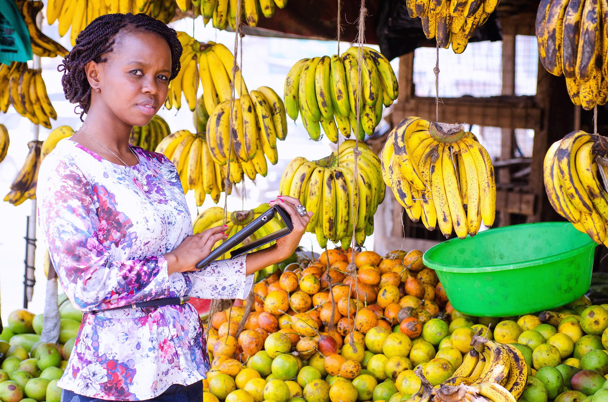 Charity Wayua lidera el equipo de investigación de IBM en Nairobi, Kenia.