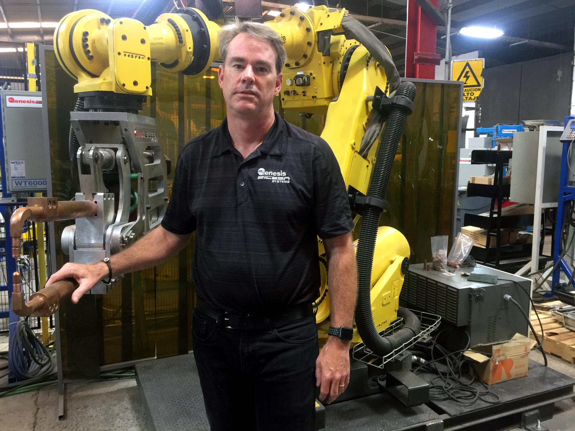 Sean Patton, director de desarrollo de negocios de Genesis-ICESA Systems