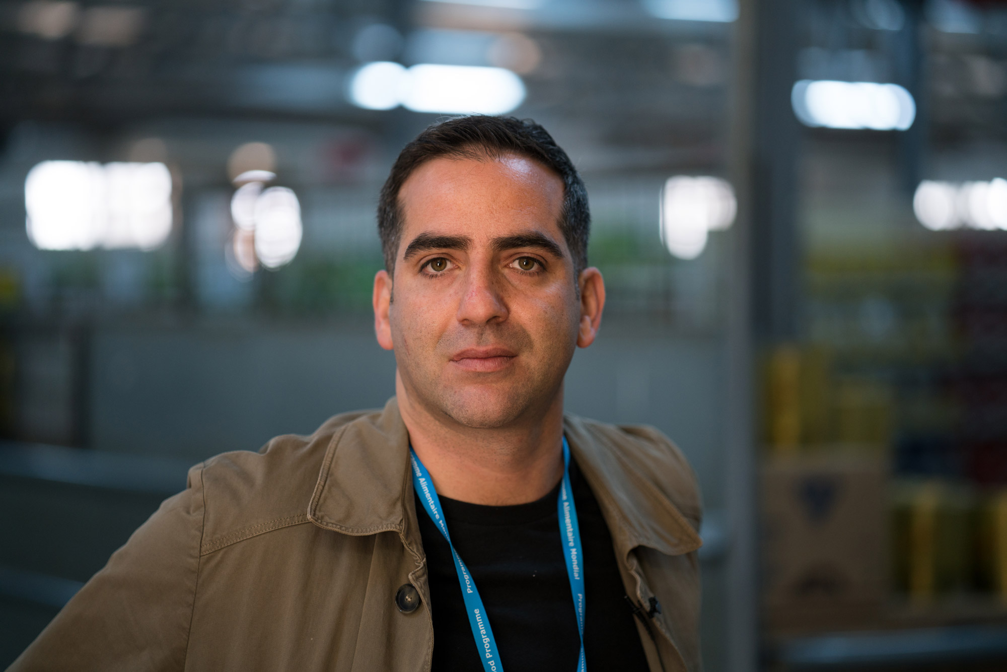 Houman Haddad es el ejecutivo de la ONU detrás de Building Blocks y su uso en el campamento jordano.
