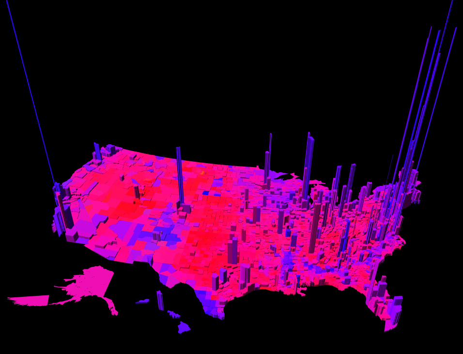 Data Visualization Reveals a Less Divided States of America ...