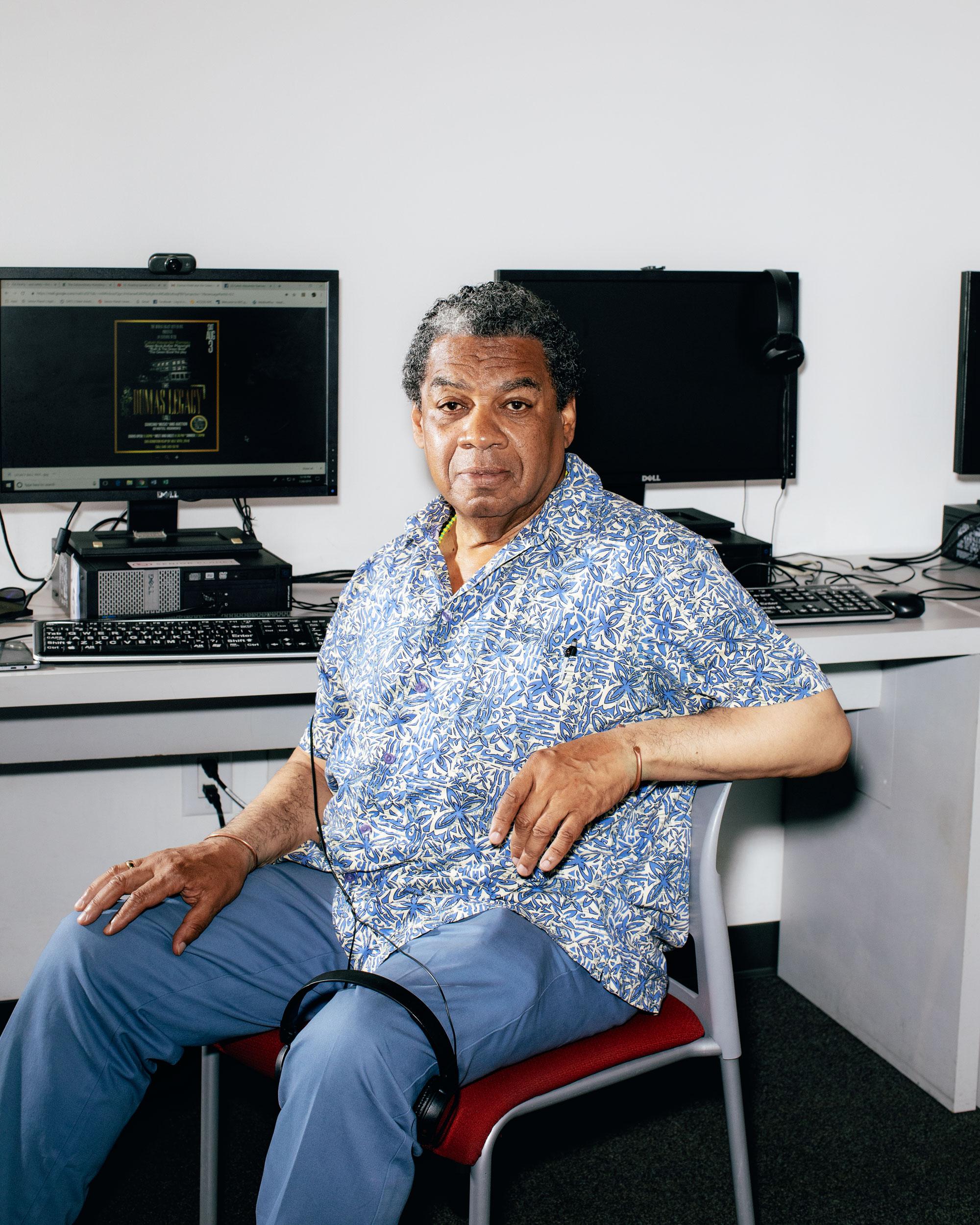 Dramaturgo Calvin Ramsey, un habitual en Senior Planet.