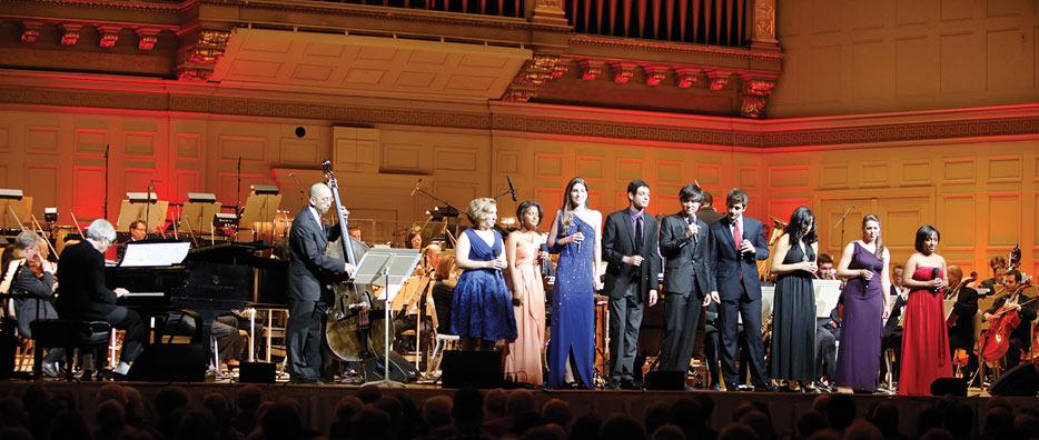 Professor John Harbison and the MIT Vocal Jazz Ensemble