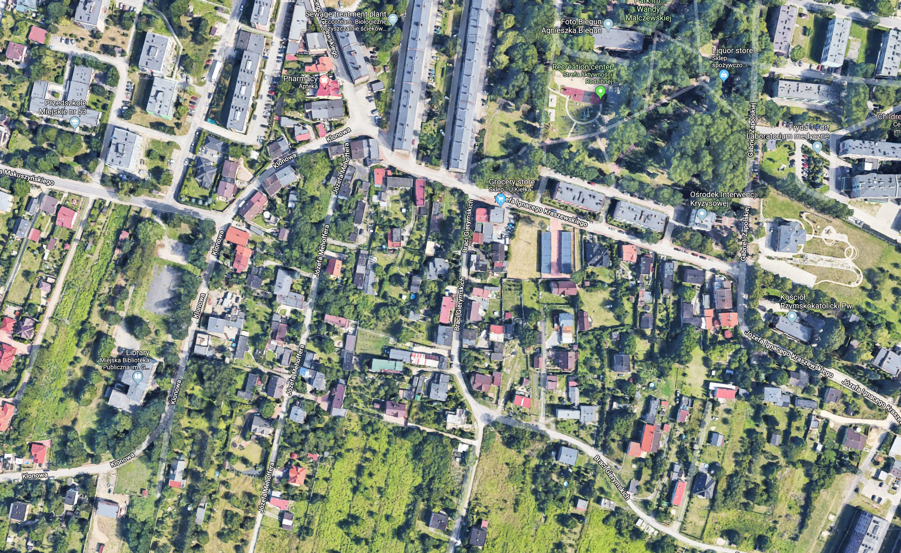 How a Google Street View image of your house predicts your risk of a
